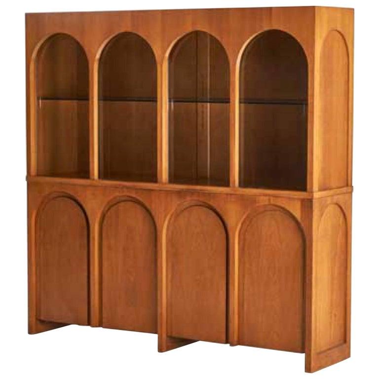 Rare T.H. Robsjohn-Gibbings Coliseum Cabinet, circa 1955 For Sale