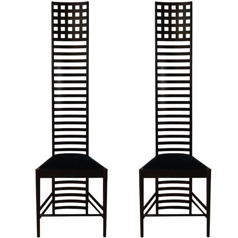 Xl Edition Hill House Ladderback Chair By Charles Rennie