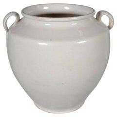 "White Terra Cotta ""Confit"" Jar"