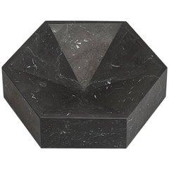 """Hexagonal Constellation Bowl"" Large Low in Marble Designed by Lara Bohinc"