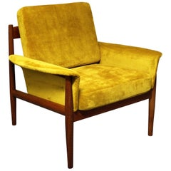 Grete Jalk Danish Lounge Chair for France & Son