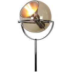 Globe 2000 Floor Lamp by Frank Ligtelijn for RAAK, Amsterdam, 1970s