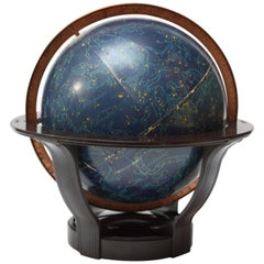 1940s Rand McNally Celestial / Astrological Globe on Bakelite Base