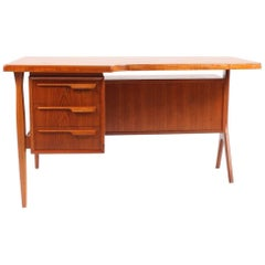 Freestanding Teak Desk, 1960s