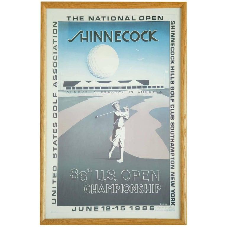 Vintage US Open Golf Poster