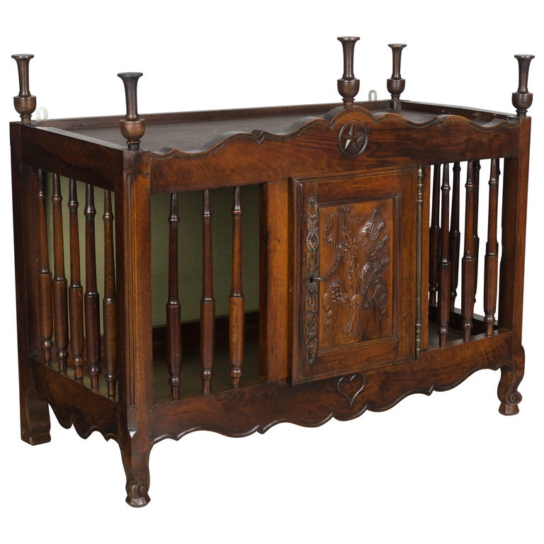 19th Century French Provencal Panetiere