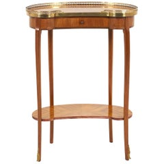 French Kingwood Occasional Table FY-919