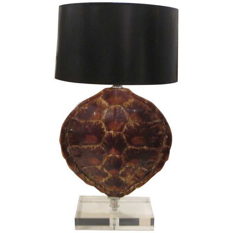 Turtle shell lamp for sale at 1stdibs turtle shell lamp for sale mozeypictures Gallery