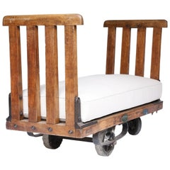 Bench From Spanish Industrial Trolley