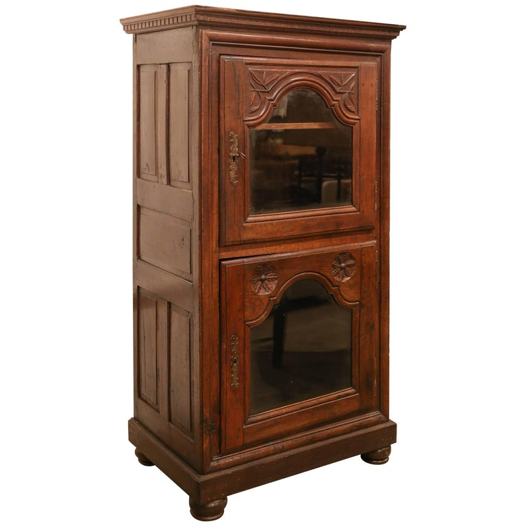 French Glass Front Cabinet