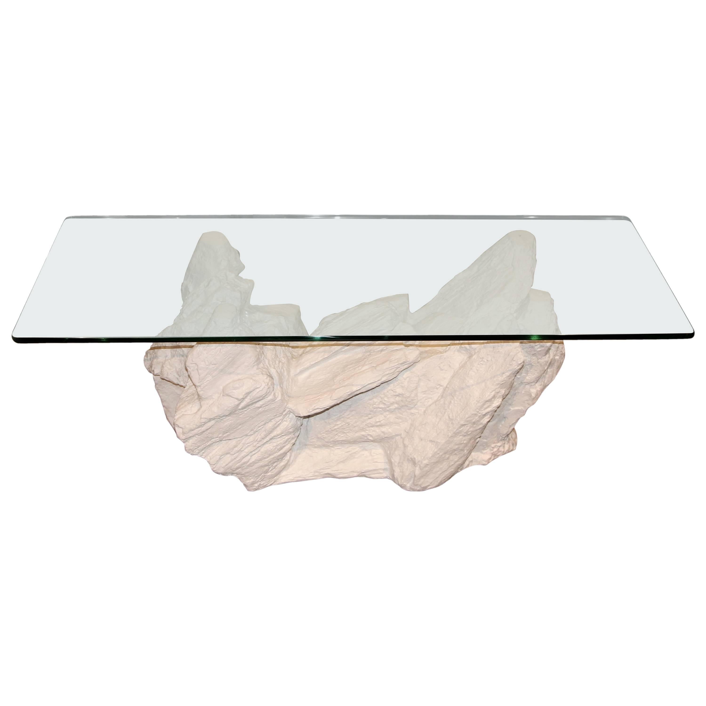 Sirmos Plaster Rock Quarry Coffee Table