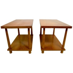 Pair of Robsjohn for Widdicomb Tables