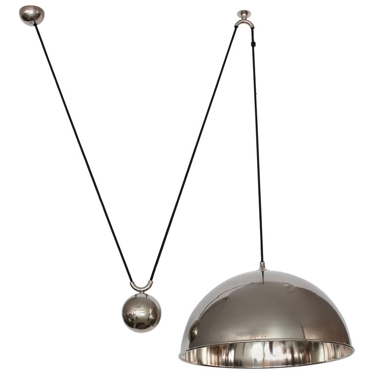 Florian Schulz Dome Counter Balance Pendant For Sale