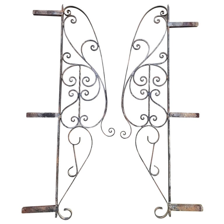 Architectural Wrought Iron Panels, Pieces