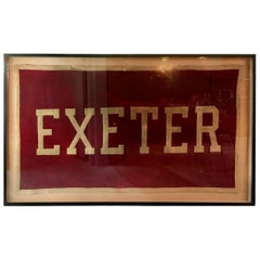1920s Exeter Academy Banner
