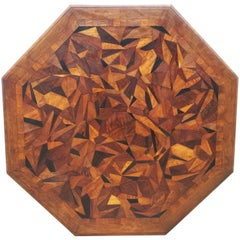 Large Parquetry Octagonal Centre Table