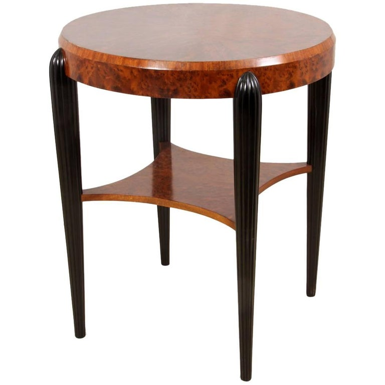 French Art Deco Side Table, circa 1920