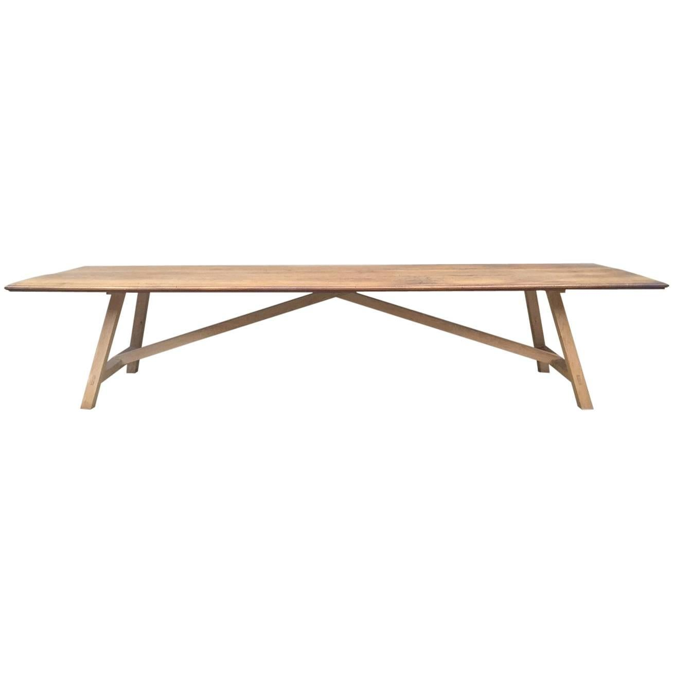 Dining Conference Table Reclaimed Walnut