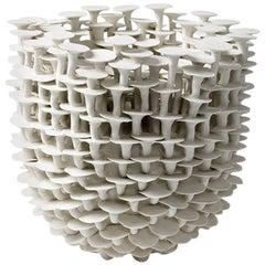 """Porcelain Sculpture by Mart Schrijvers Entitled """"Solstice"""", 2017"""