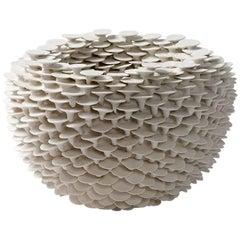 """Porcelain Sculpture Entitled """"Solctice"""" by Mart Schrijvers, 2017"""