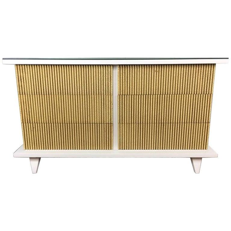 American of Martinsville Six-Drawer Dresser or Credenza