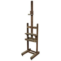 French Artist's Easel, circa 1900