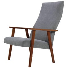 1960 Danish Teak High Back Armchair