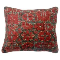 Antique Rug Pillow from an Ersari Rug