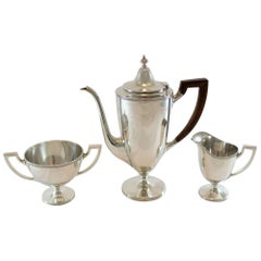 Tiffany & Co, Vintage Sterling Silver Tea Set, New York, circa 1947-1956