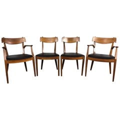 Kipp Stewart Set of Four Dining Chairs for Drexel
