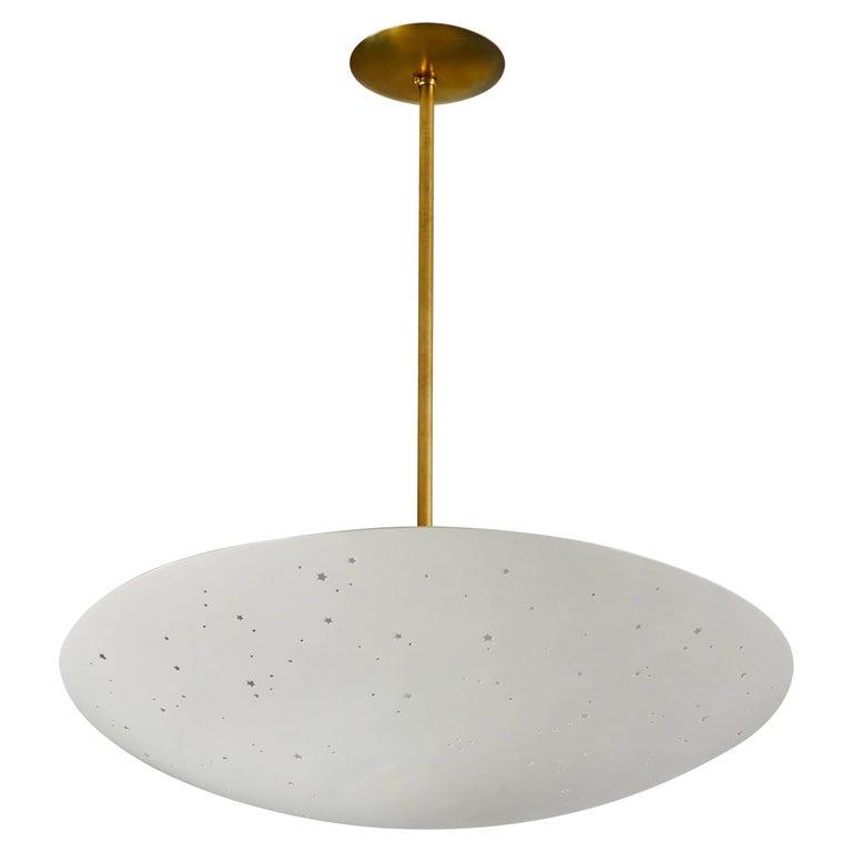 Italian Pendant Light For Sale