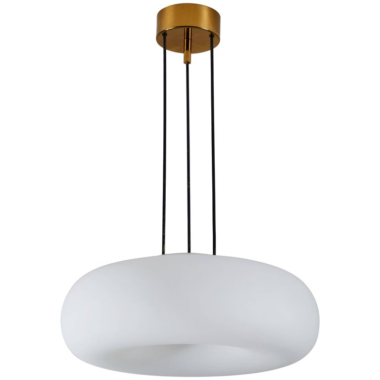 Model 2356 Suspension Light by Fontana Arte For Sale