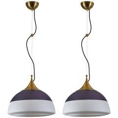 Two Suspension Lights by Stilnovo