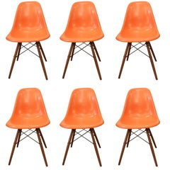 Charles & Ray Eames Fiberglass Chairs