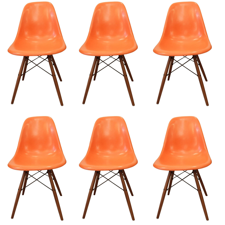 Charles U0026 Ray Eames Fiberglass Chairs For Sale
