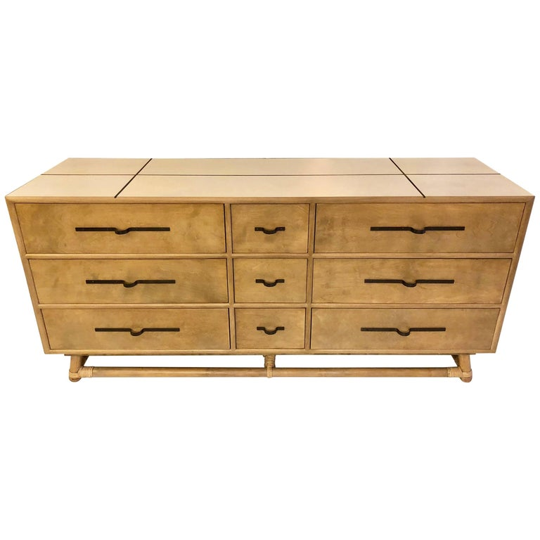 Tommi Parzinger Nine-Drawer Dresser for Willow and Reed For Sale