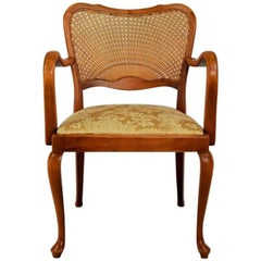 Vintage Chair in the Style Second Rococo, Czechoslovakia, 1930s