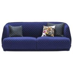 Moroso Redondo Two-Seat Sofa in Tufted Upholstery by Patricia Urquiola