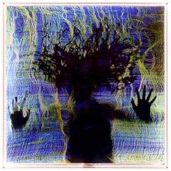 'Origin Enlightened' Contemporary Artwork, Handmade by Lawrence Kwakye
