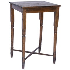 Rustic Walnut Side Table