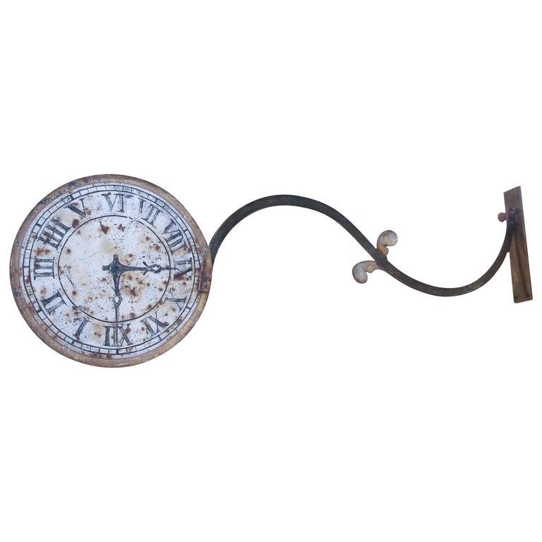 Antique Clock Shop Sign