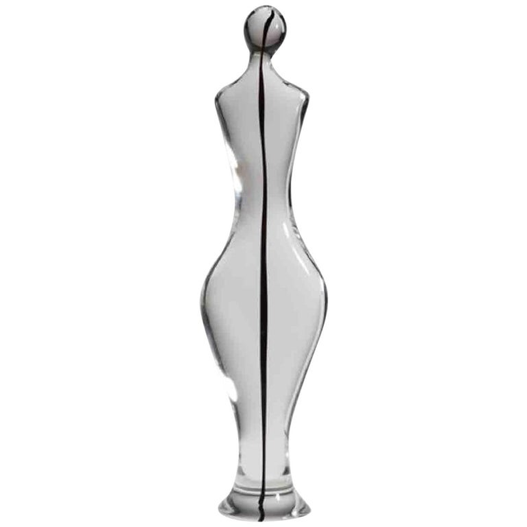 Large Antonio da Ros for Cenedese Murano Glass Abstract Sculpture