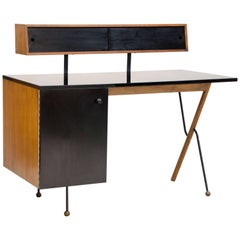 Rare Mid-Century Modern Desk by Greta Grossman for Glenn of California