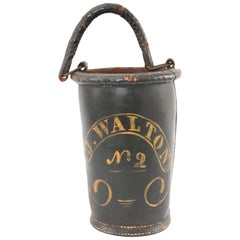 Early 19th Century Leather Fire Bucket