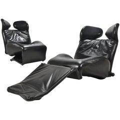 Toshiyuki Kita Wink Lounge Chairs by Cassina