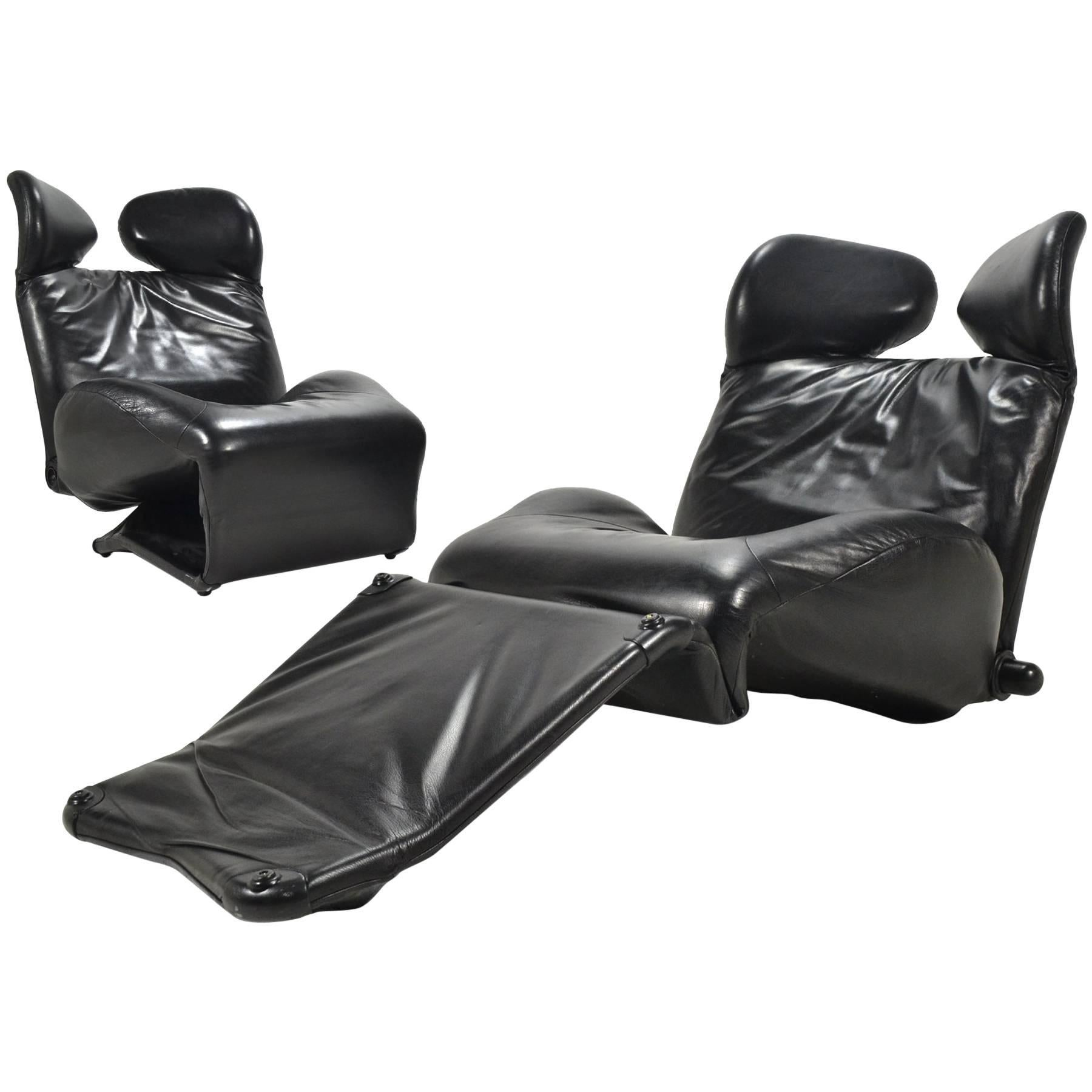 Toshiyuki Kita Wink Lounge Chairs By Cassina
