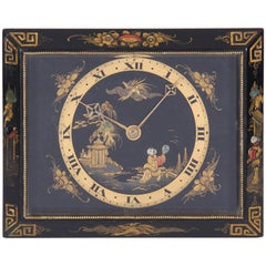 French Chinoiserie Clock
