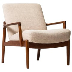 Tove & Edvard Kindt-Larsen Easy Chair Model FD125 by France & Son in Denmark