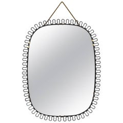 Mirror Designed by Josef Frank Produced by Svenskt Tenn in Sweden