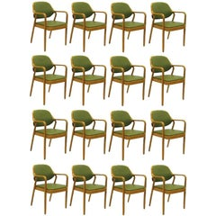 Vintage Set of 17 Model 1105 Knoll Chairs by Don Pettit